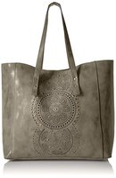 T-Shirt & Jeans Tote in Olive (add on)