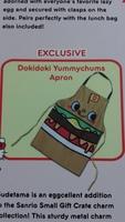 Sanrio Dokidoki Yummychums  apron