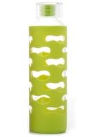 U-Konserve Glass & Silicone Bottle - Lime