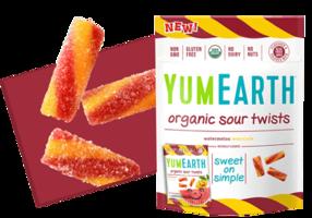 YumEarth Organic Fruit Sour Twists