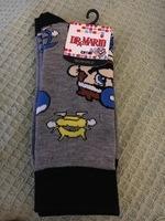 Dr. Mario Crew Socks