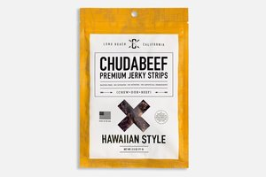 Chudabeef Premium Jerkey Strips Hawaiin