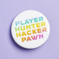 Uppercase Hacker Pin