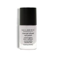 Nail Medic Charcoal Infused Nail Polish in Lava