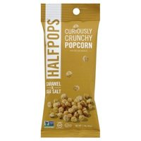Halfpops Caramel and Sea Salt Crunchy Popcorn