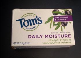 Tom's of Maine Daily Moisture Olive Oil & Vitamin E Beauty Bar (soap)