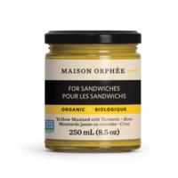 Maison Orphie organic yellow mustard with turmeric
