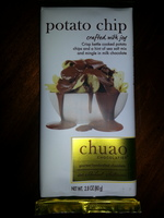 Chuao Potato Chip Gourmet Handcrafted Chocolate