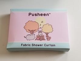 Pusheen Fabric Shower Curtain