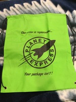Planet Express Drawstring Bag