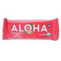 Aloha Peanut Butter and Jelly Protein Bar