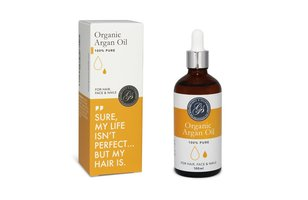 Grace & Stella Organic Argan Oil For Hair, Face & Nails