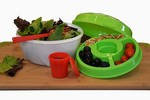 Diamond Home Large Salad Bowl