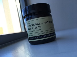 Charcoal + Matcha Face Mask for oily skin and breakouts