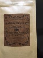 Death By Chocolate Fizzy Bath Powder