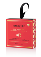 Spongelle Boxed Heart on a String - Camelia Rose