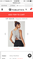 Anvi Tank From Fabletics