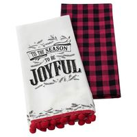 Hallmark Home Tis the Season Tea Towel Set