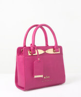With212 Central Park Mini Satchel in Raspberry