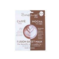 The Creme Shop Caffee Mocha Fusion Caffeine & Dark Chocolate Sheet Mask