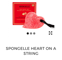 Spongelle Heart on a String