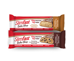 SlimFast Bake Shop Chocolatey Peanut Butter Pie Protein Bar