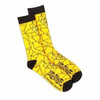Loot Crate Duel Yu-Gi-Oh! Millenium Puzzle Crew Socks Bioworld Size 10-13