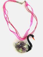 Venetian Glass - Swan Necklace