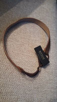 Kitsch brown vegan leather headband