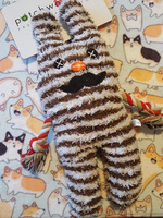 Patchwork Pet Gus Greybar Plush Toy