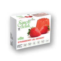 Simply delish Natural Strawberry Jel Dessert