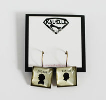 Holmes and Watson Earrings
