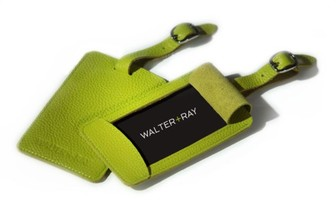 WALTER+RAY Leather Luggage Tag