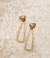 House of Harlow 1960, Mesa Door Knocker Earrings