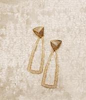 House of Harlow 1960, Mesa Door Knocker Earrings