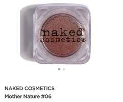 Naked cosmetics pigment in #06 Mother Nature