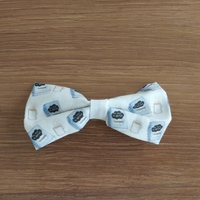 Bow Hair Barrette - Fault in Our Stars print
