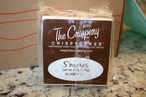 The Crispery Marshmallow Rice Treats S'mores