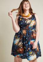 ModCloth Heart & Solar System Dress, 2X