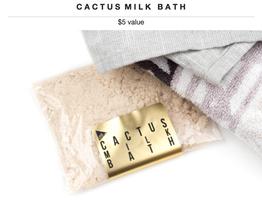 URB Apothecary Cactus Milk Bath
