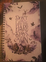 A Court of Mist and Fury quote notebook