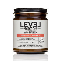 Level Naturals Grapefruit & Bergamot Soy Candle