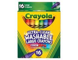 Crayola Ultra-Clean Washable Crayons ColorMax 16 count