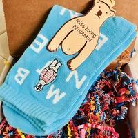 Miss Zuing Benjamin Bear Socks