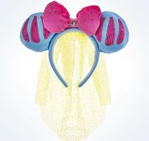 Disney Parks Snow White Headband with Veil Mickey Ears!