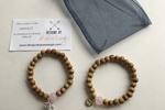 Katie Leigh Bamboo Wooden Bead Bracelet Set
