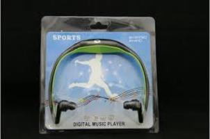 SPORTS DIGITAL MUSIC PLAYER MP3-FM-TF-STEREO