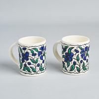Pair of mugs - hand painted