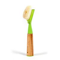 Suds up soap dispensing dish brush