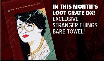 Stranger Things Barb Beach Towel